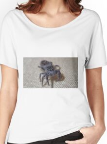 Macro Jumping Spider Women's Relaxed Fit T-Shirt