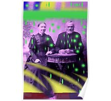 A colourful old couple  Poster