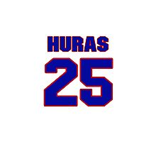 Hey, you must be a big fan of Huras, if not pls search for your favourite players jersey to wear it proudly.  Photographic Print