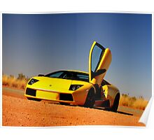 Lamborghini Murcielago Poster