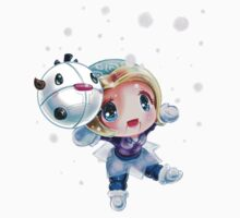 Chibi Winter Wonder Orianna by Pixel-League