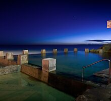 Coogee Pool by Brent Pearson