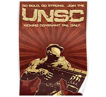Halo 4 UNSC Poster (Going Bold) Poster