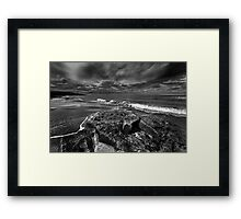 After The Storm BW Framed Print