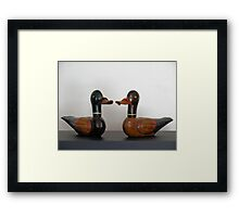Korean Wedding Ducks Framed Print