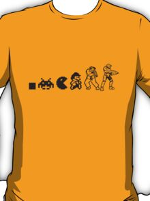 Resolution Evolution - A Quick Video Game History T-Shirt
