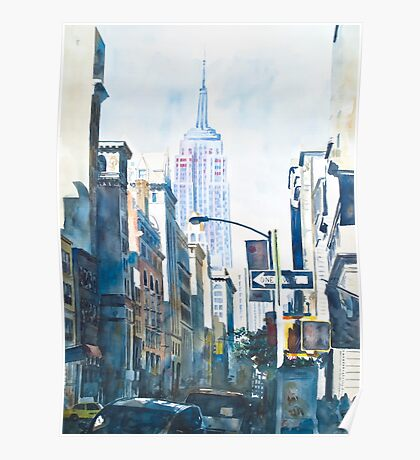 New York - Empire State Poster