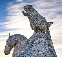 The Kelpies by M.S. Photography/Art