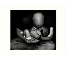 A Father's Love Art Print