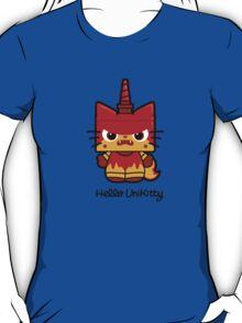 Hello (Angry) Unikitty T-Shirt