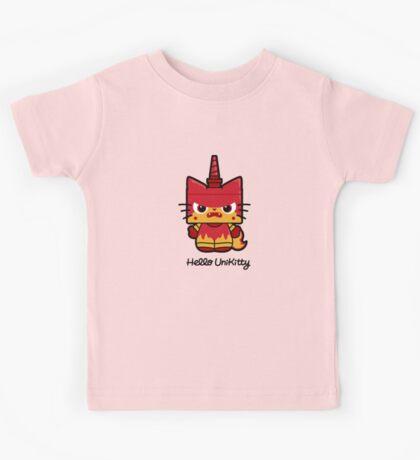 Hello (Angry) Unikitty Kids Tee