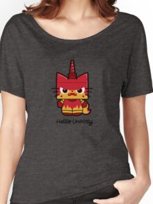 Hello (Angry) Unikitty Women's Relaxed Fit T-Shirt
