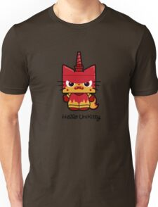 Hello (Angry) Unikitty Unisex T-Shirt