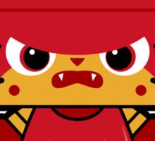 Hello (Angry) Unikitty Sticker