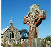 church and graveyard at St Mary Photographic Print