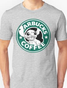 No more coffee for you - Stitch Starbucks logo Unisex T-Shirt