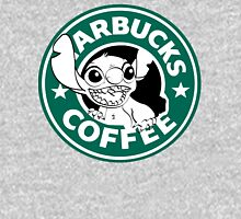 No more coffee for you - Stitch Starbucks logo Womens Fitted T-Shirt