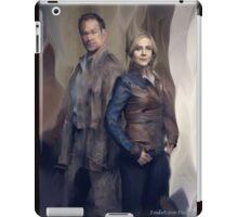 Nolan and Amanda Defiance Season 1 iPad Case/Skin