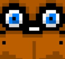 Freddy Fazbear 8-Bit Sticker