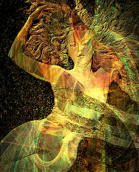 The Rising Goddess 2 by helene