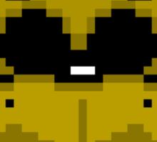 Golden Freddy 8-Bit Sticker
