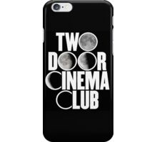 Two Door Cinema Club Moon Phases iPhone Case/Skin