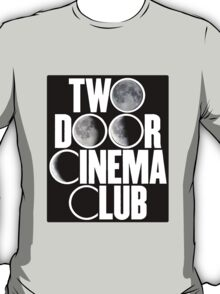 Two Door Cinema Club Moon Phases T-Shirt