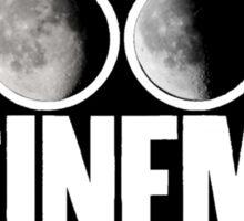 Two Door Cinema Club Moon Phases Sticker