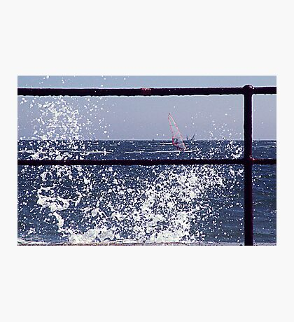 Wind Surfer Photographic Print