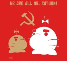 WE ALL ARE MR. SATURN! by MarcottoF
