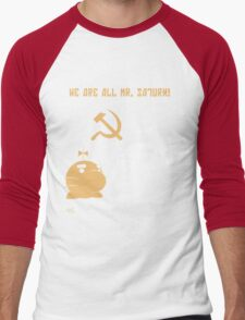 WE ALL ARE MR. SATURN! Men's Baseball ¾ T-Shirt