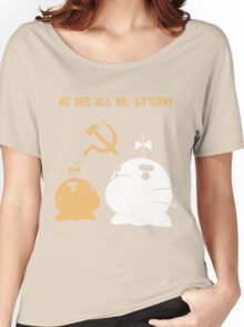 WE ALL ARE MR. SATURN! Women's Relaxed Fit T-Shirt