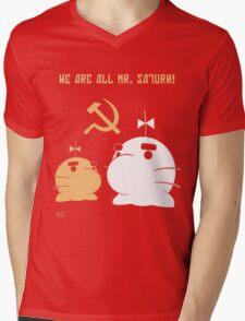WE ALL ARE MR. SATURN! Mens V-Neck T-Shirt