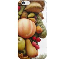 God of Harvest, Fruit and Vegetable Face iPhone Case/Skin