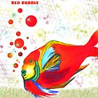 Red Bubble Fish by Weshon  Hornsby