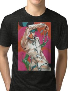 rohan at the louvre Tri-blend T-Shirt