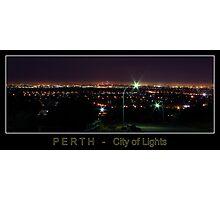 Perth - City of Lights Photographic Print