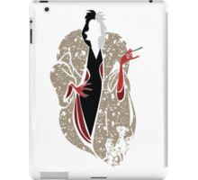 Cruella's Dream Coat iPad Case/Skin