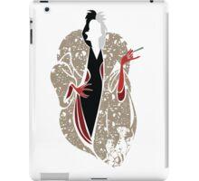 Cruella's Dream Coat iPad Case/Skin