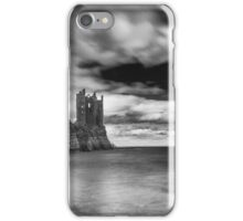 Long Exposure, Keiss Castle, Caithness, Scotland iPhone Case/Skin