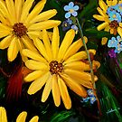 Yellow Flowers  by saleire