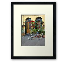 A Day in Lucca Framed Print