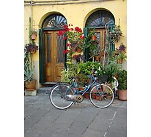 A Day in Lucca Photographic Print