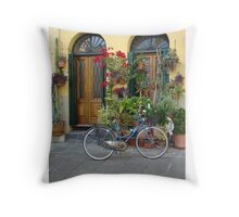 A Day in Lucca Throw Pillow