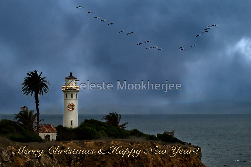 Storm brewing off Point Vicente - card 2 by Celeste Mookherjee