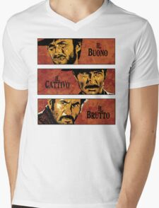 The Good, the Bad, and the Ugly Mens V-Neck T-Shirt