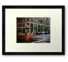 Rocky Mountain Diner Framed Print