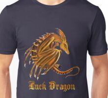 Luck Dragon with letters Unisex T-Shirt
