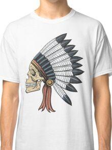 indian (skull) Classic T-Shirt