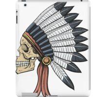 indian (skull) iPad Case/Skin